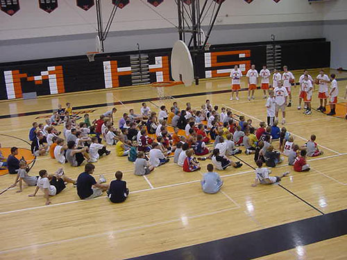 MHS Basketball Camp on NBC25, 2009